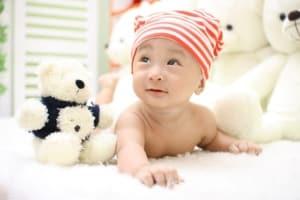 Heizstrahler Baby Bild