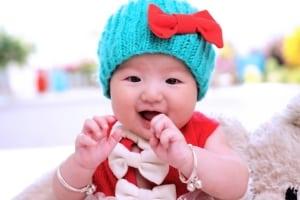 Wärmelampe für Babys